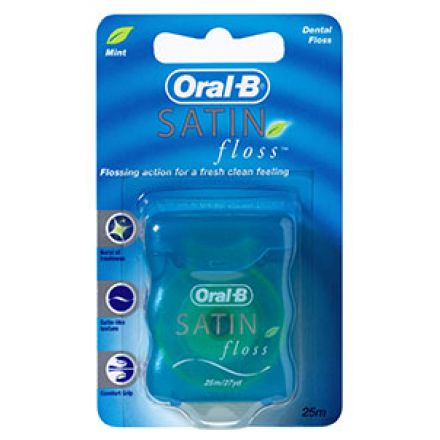 Зубна нитка Oral-B Satin Floss